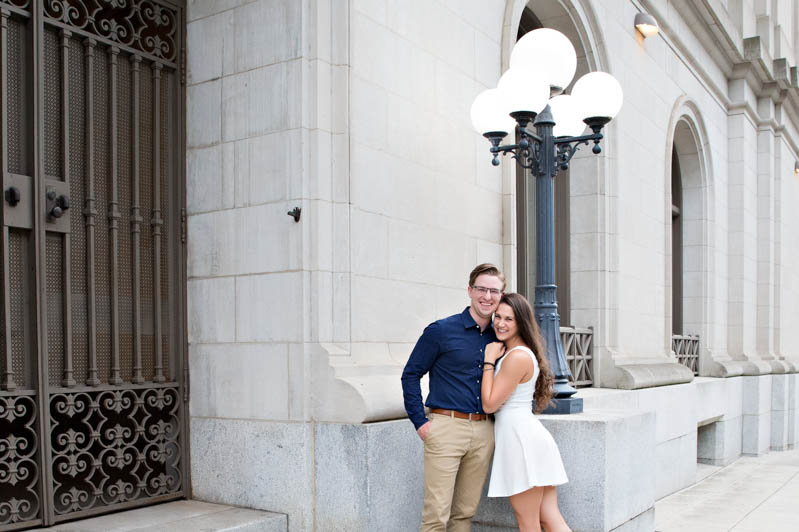 engagement photos downtown raleigh nc