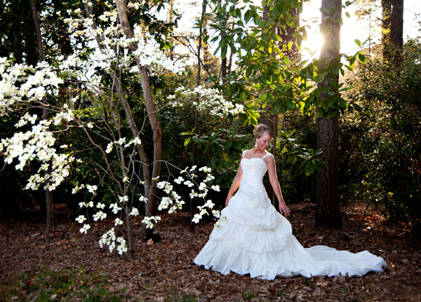 Dawn's Spring Bridal Portrait: Duke Gardens Bridal Photography