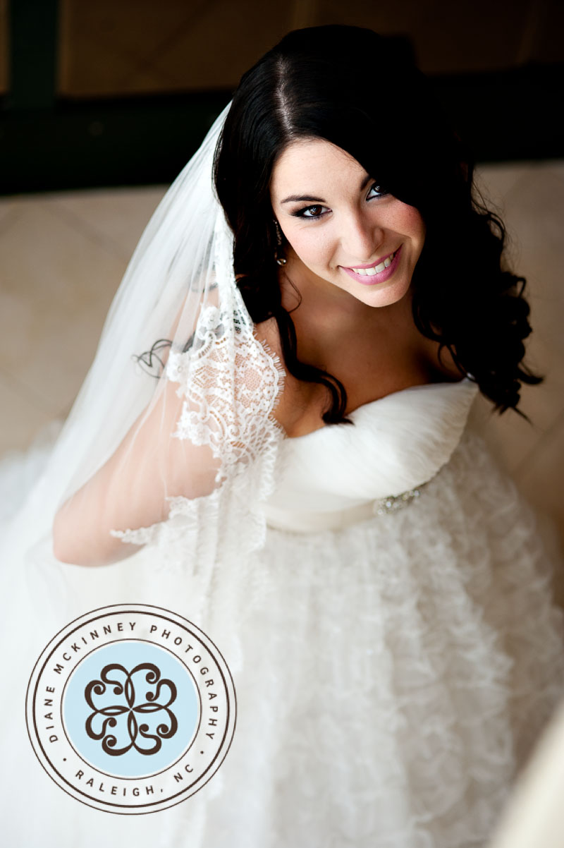 Bride Photos at City Club of Raleigh