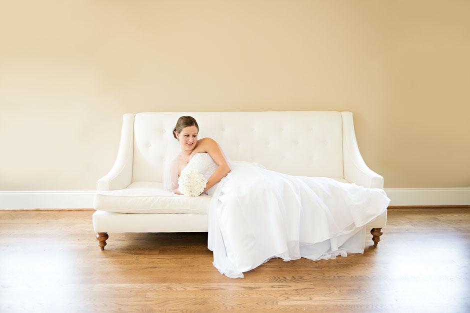Melinda's Bridal Session:  The Oaks of Salem Photography