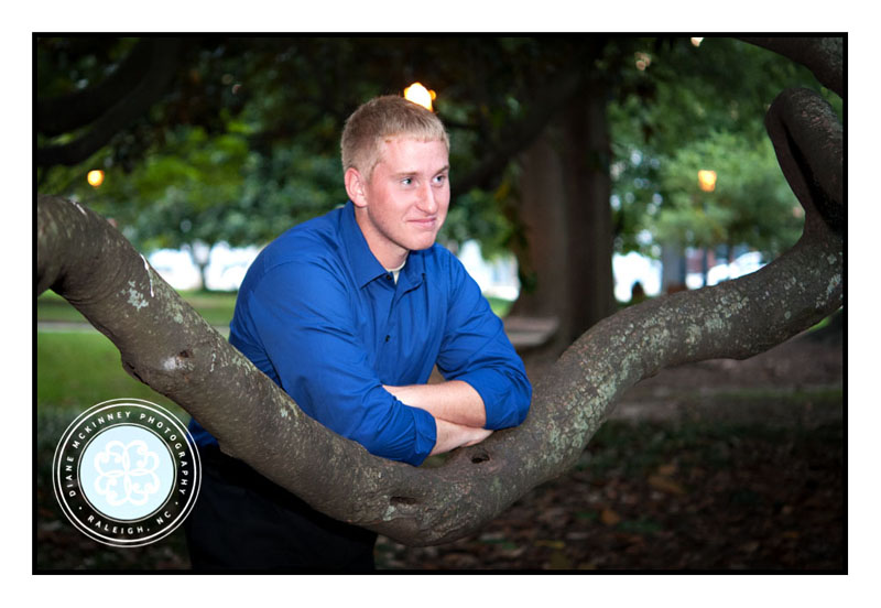 Andrew's Senior Session Military Style: Senior Photography Raleigh NC
