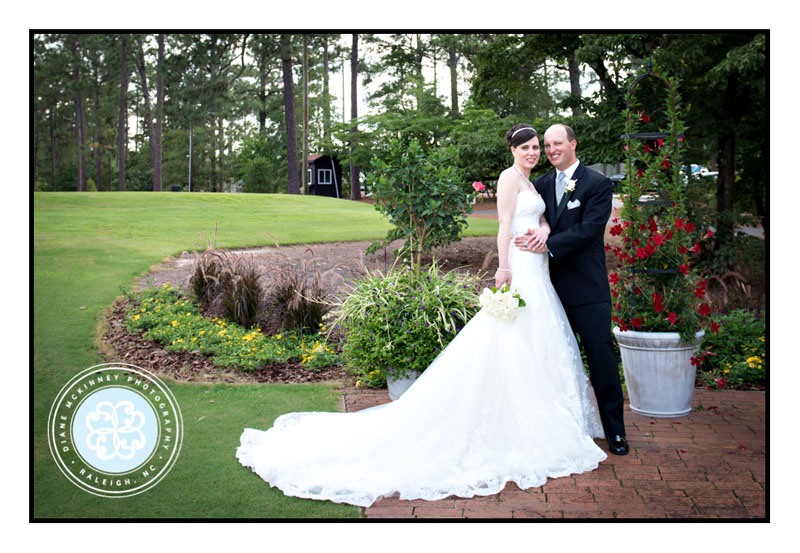 Posed picture of Bride and Groom