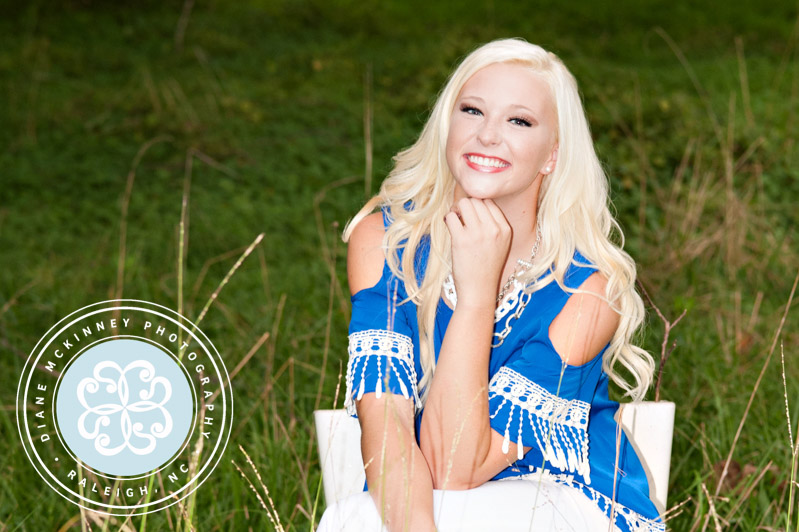 The beautiful and funny Lainie: Raleigh Senior Photography