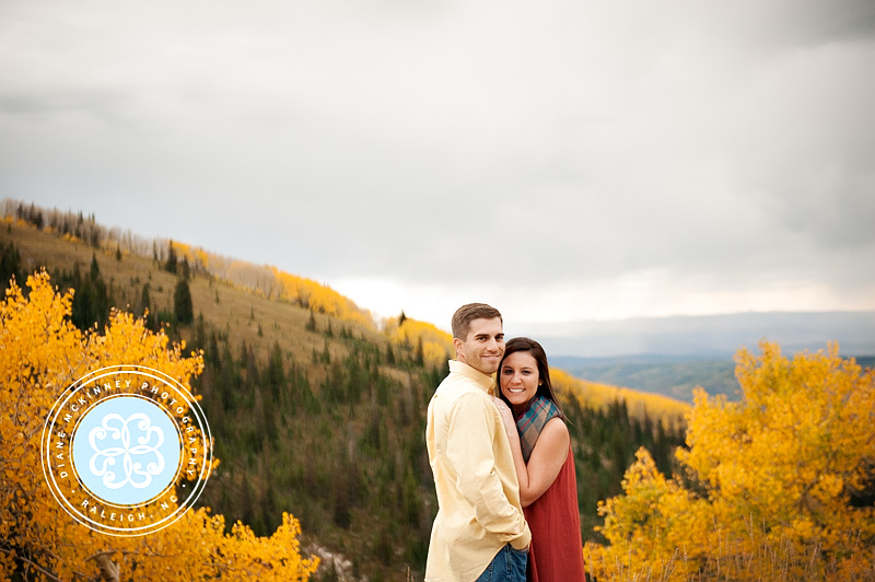 Jessica & Kyle's Fall Engagement Session: Engagement Photography in the Mountains