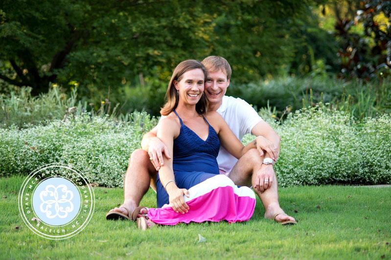 Christina & Jonathan Maternity Session | Raleigh NC