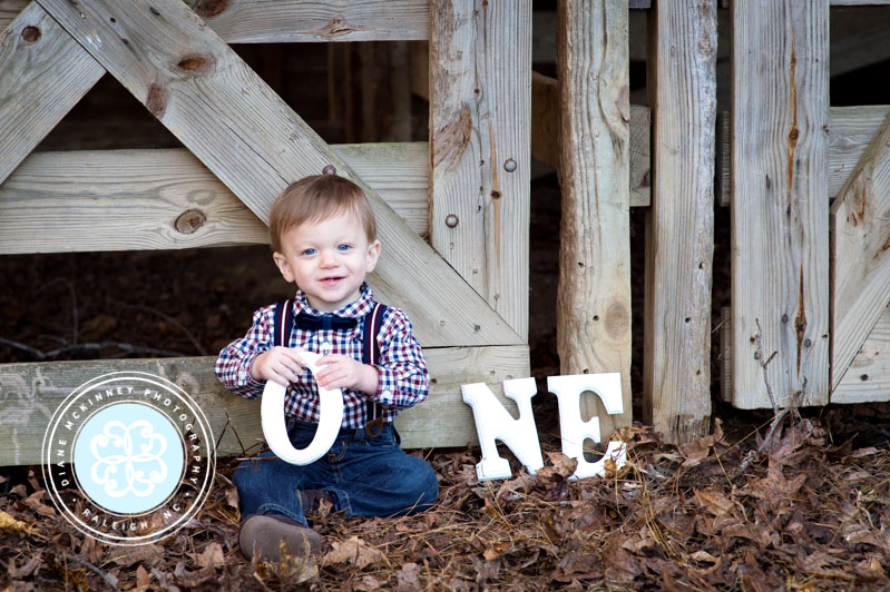 Baby G Turns 1 | Raleigh photographers