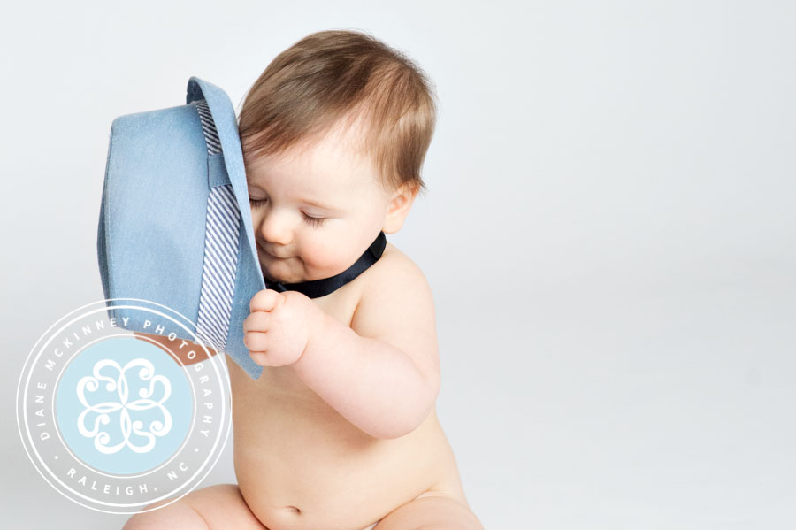 Cute 9mth Series Photo Session | Raleigh Photography