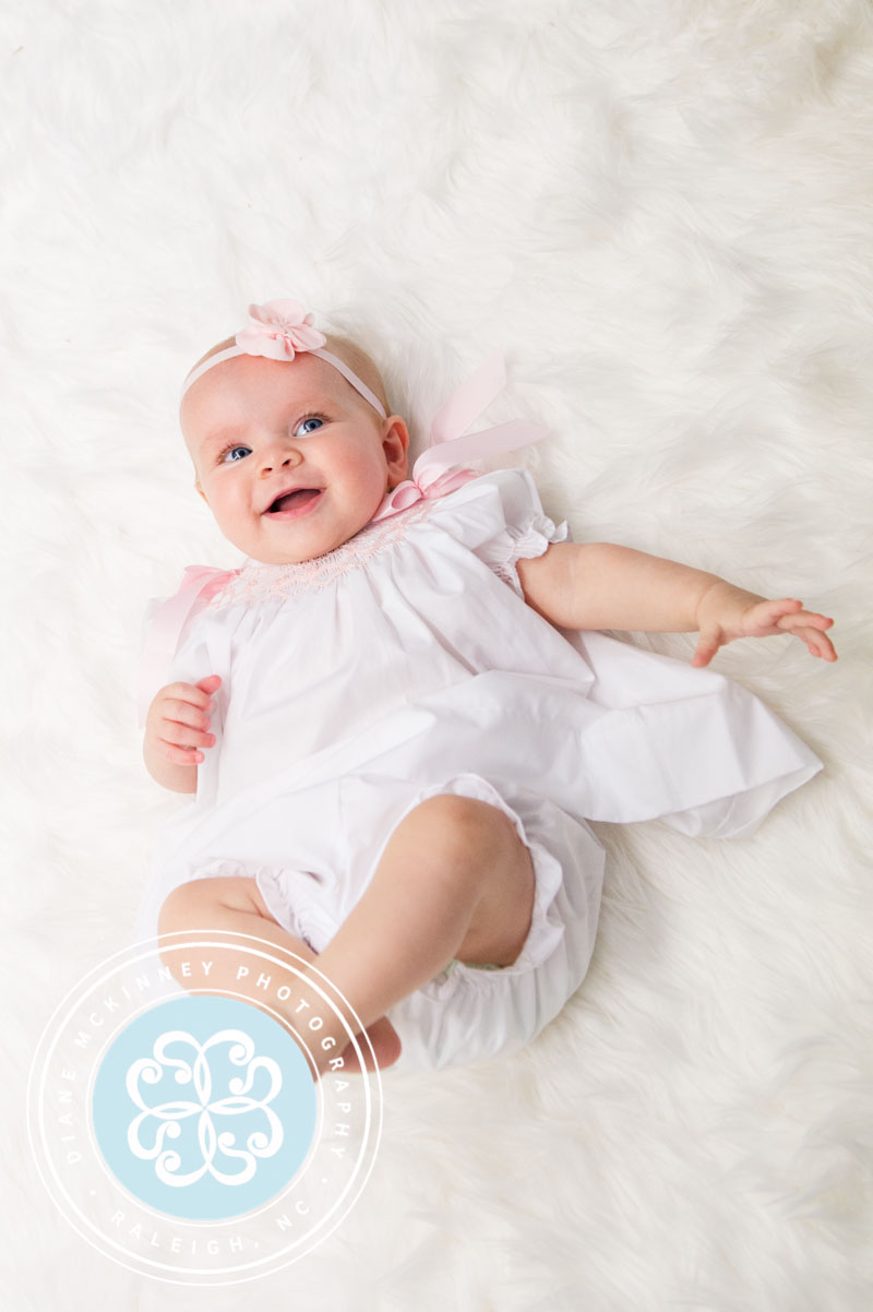 Baby W turns 6 mths | Raleigh Baby Photographer