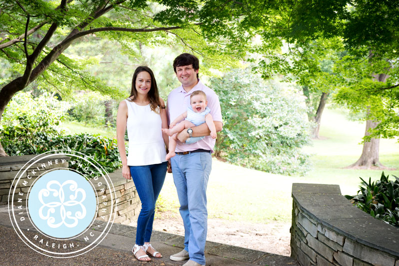 Baby B and Family | Raleigh Family Photographer