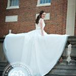 bridal portrait UNC