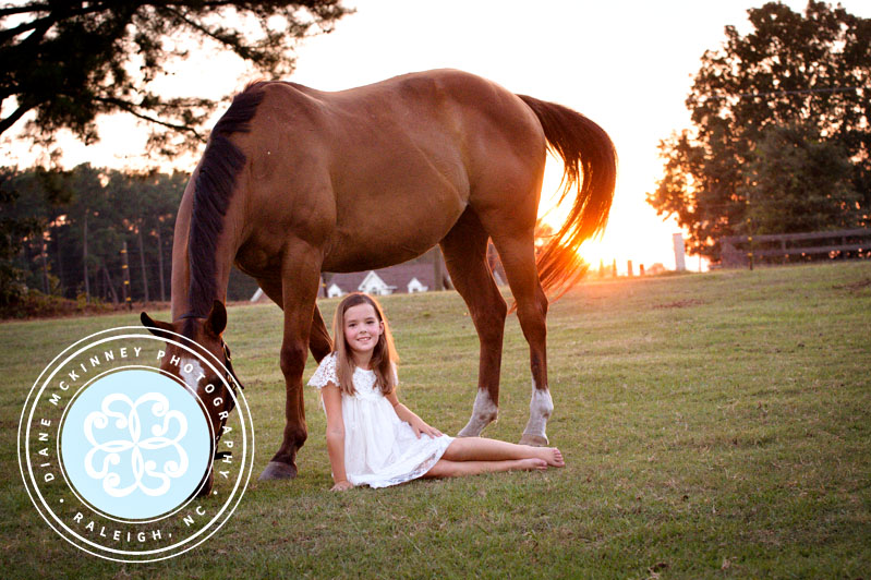 Slyder & her girl | Child horse photography