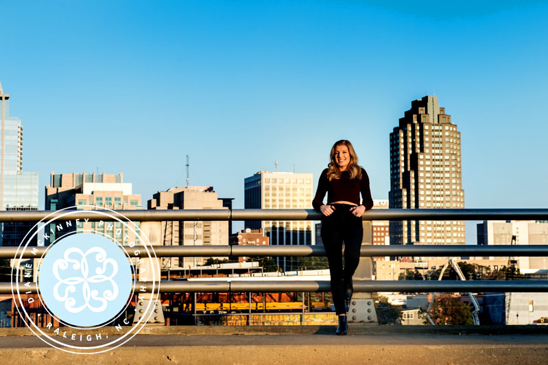 Kelly's Senior Session | Downtown Raleigh Photographers