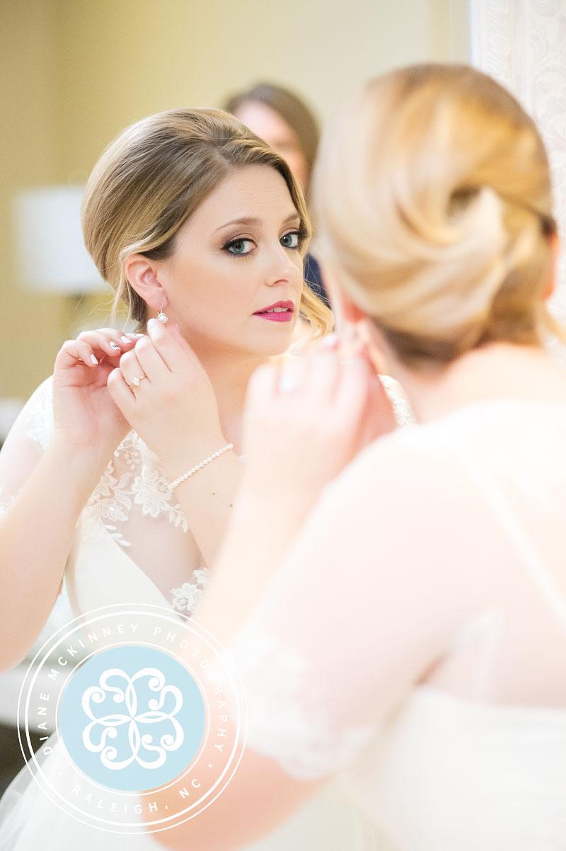 Lauren & Adam's Wedding | Raleigh Wedding Photographers at Caffe Luna & Peace College