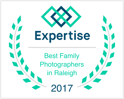 Awarded One of the Best Family Photographers in Raleigh
