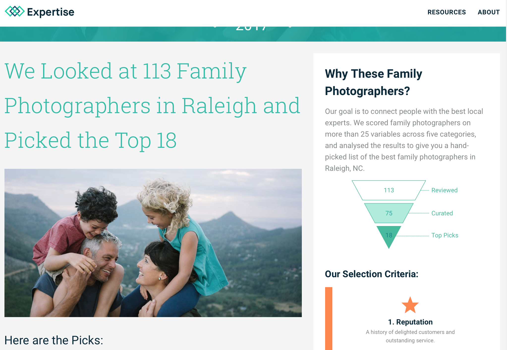 Top 18 of 113 Family Photographers