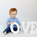 Valentine's Baby Photography Raleigh NC