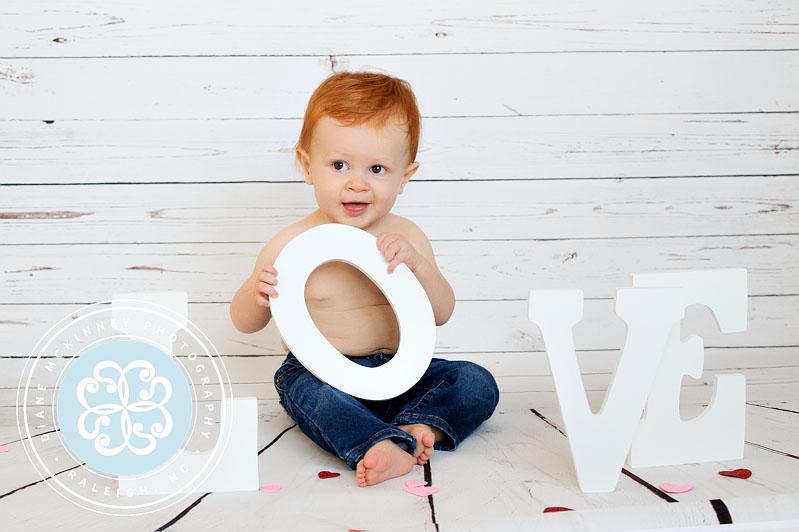 My Funny Valentine | Baby Valentine Photography