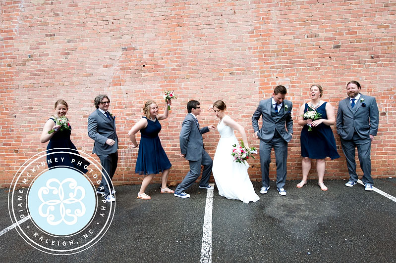 Jenny & Andrew Cafe Luna Wedding | Raleigh Photography