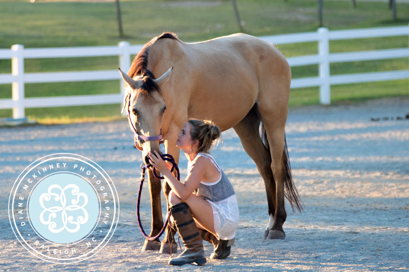 A Girl and Her Horse | Raleigh Equestrian Photographer