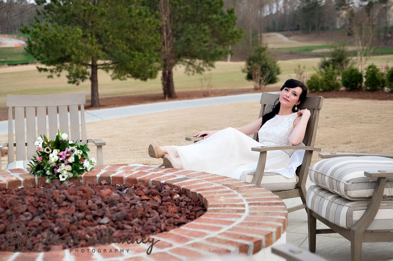 The Club at 12 Oaks Bridal Shoot | Raleigh Wedding Photographers