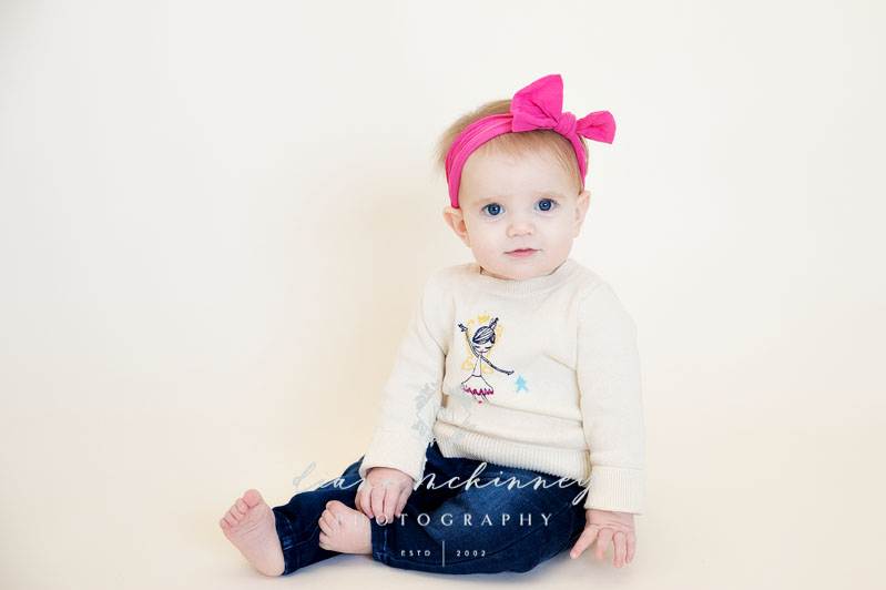 Baby A's 9 Month Baby Photos | Raleigh Photographers