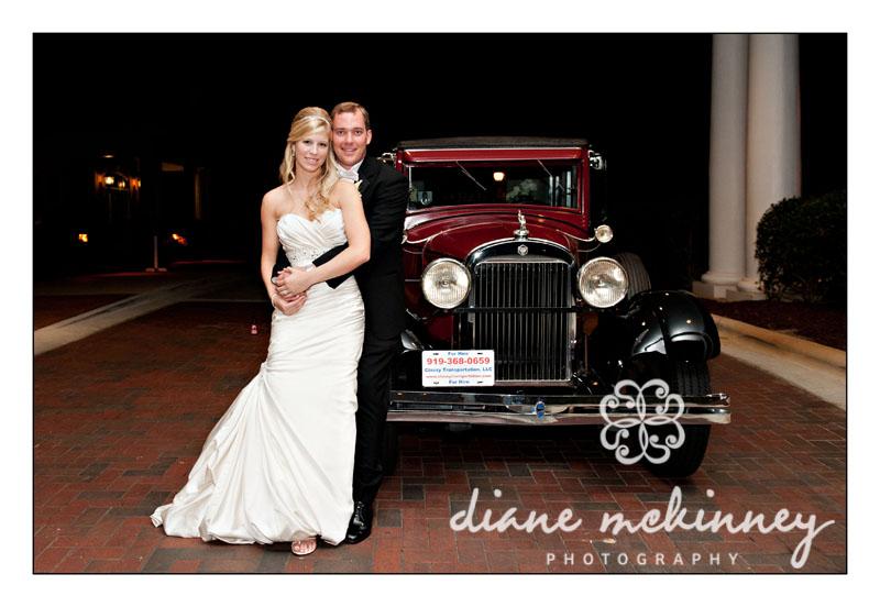 Ashley & Tim's Vintage Wedding: Raleigh Wedding Photography