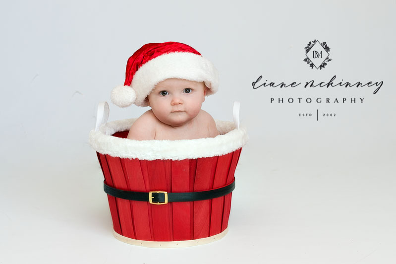 Christmas Babies | Raleigh Baby Photographer