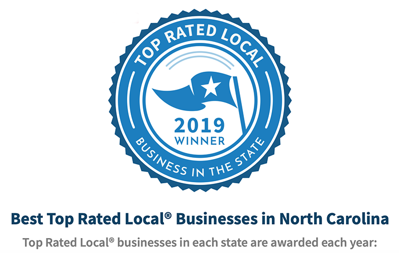Award for Top Rated Vendors in NC