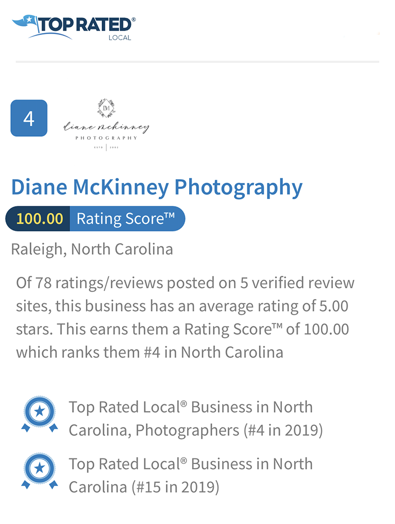 Best Photographers in NC