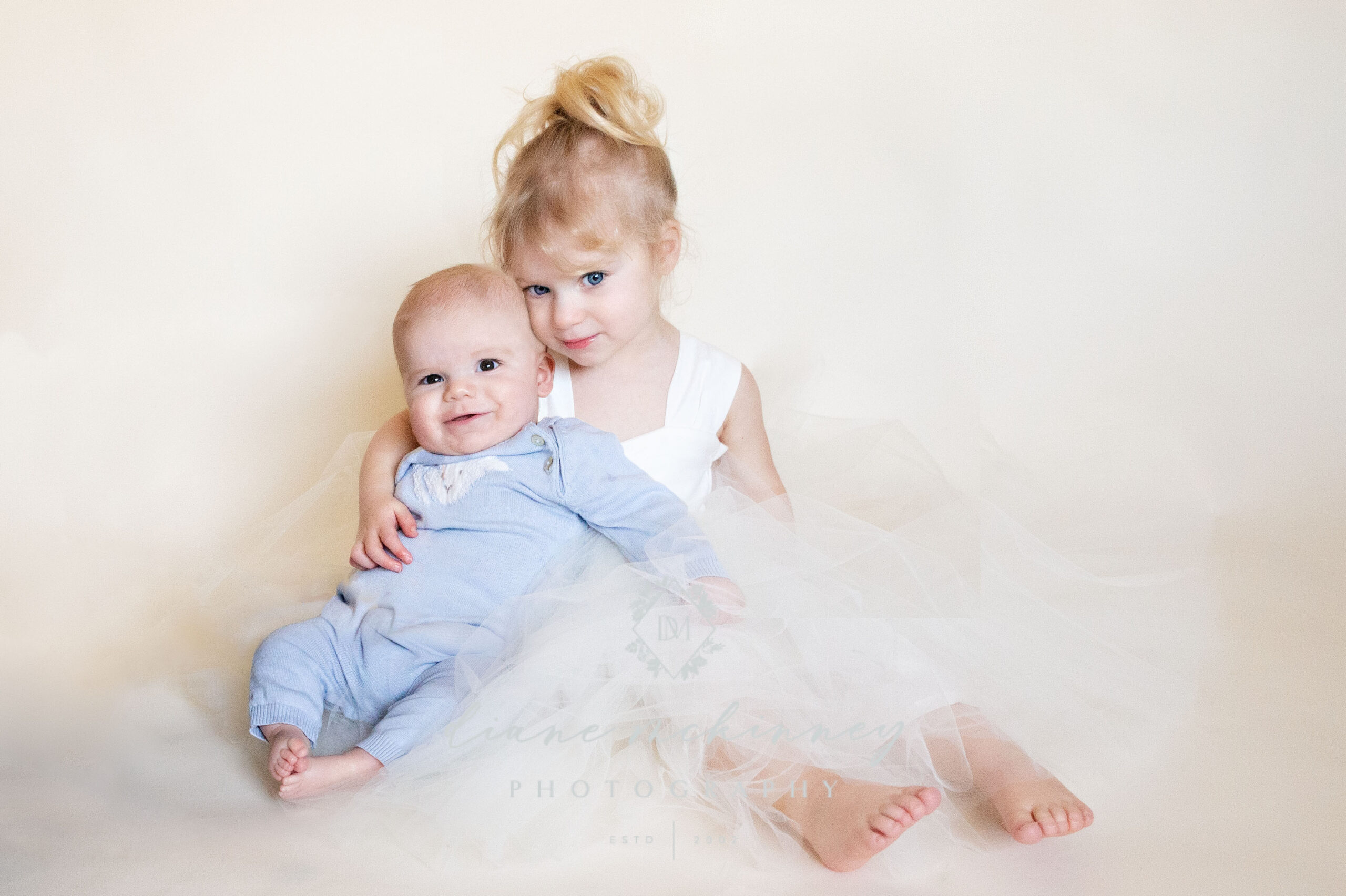 Sister and baby photos