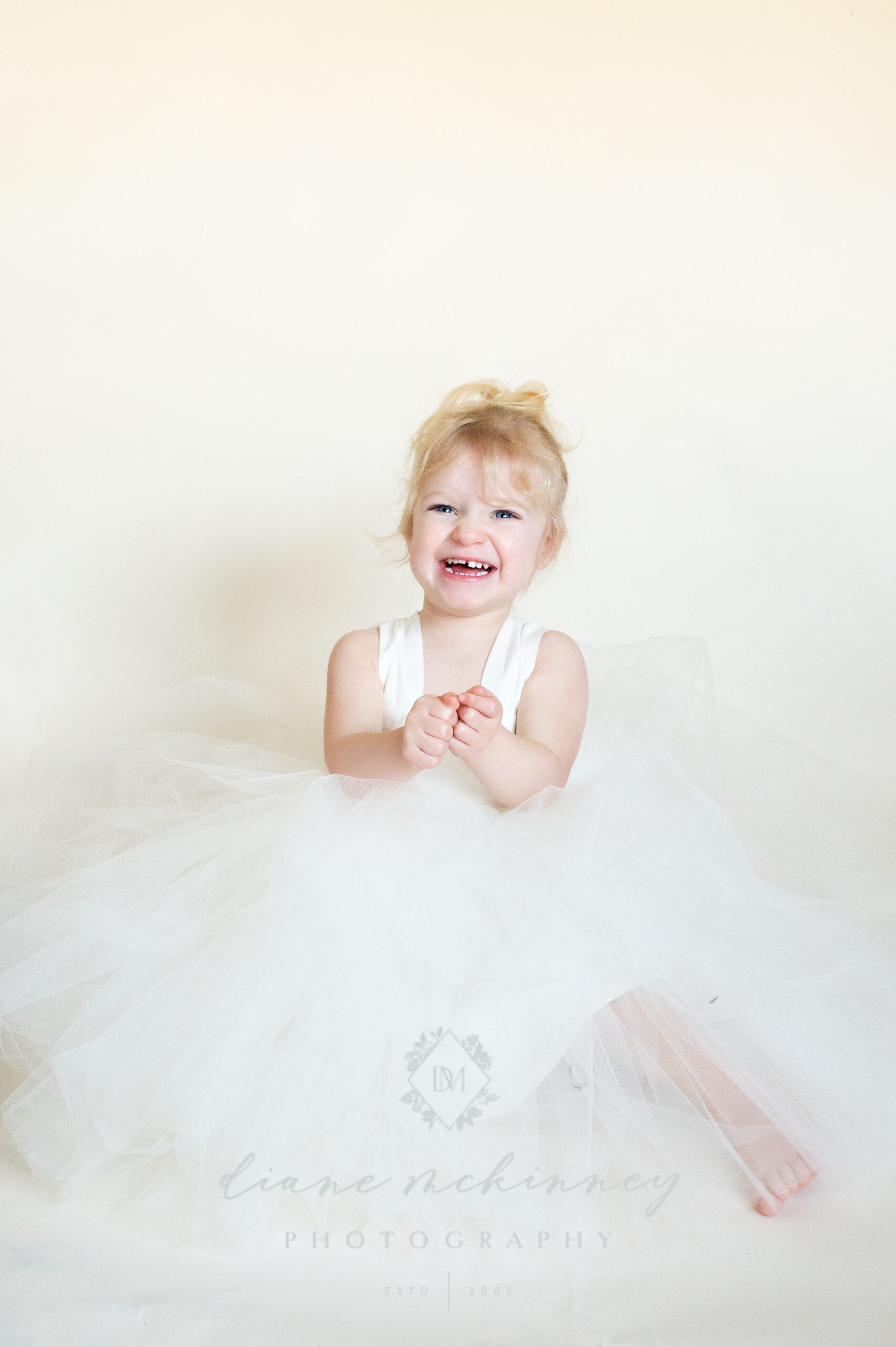 Little girl in tutu