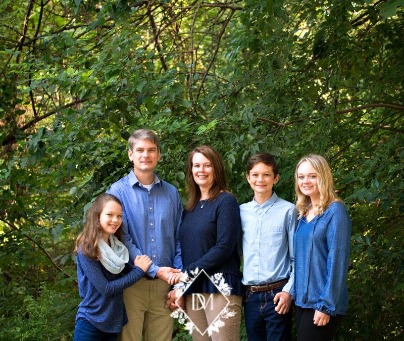 Family Photos at Dorethea Dix Park in the Summer