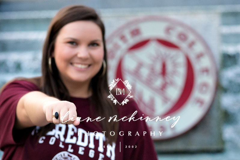 Meredith college senior photos